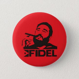 Bóton Redondo 5.08cm Fidel Castro