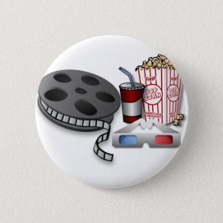 Bóton Redondo 5.08cm filme 3D