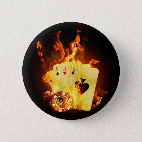 Bóton Redondo 5.08cm Fire Poker