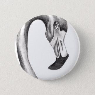 Bóton Redondo 5.08cm Flamingo extravagante