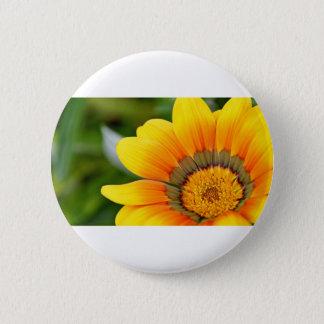 Bóton Redondo 5.08cm Flor amarela