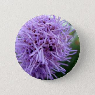 Bóton Redondo 5.08cm Flor da violeta da aranha do tentáculo