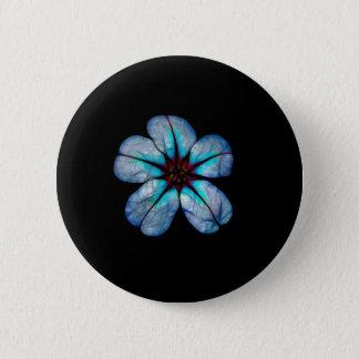 Bóton Redondo 5.08cm Flor de néon 1
