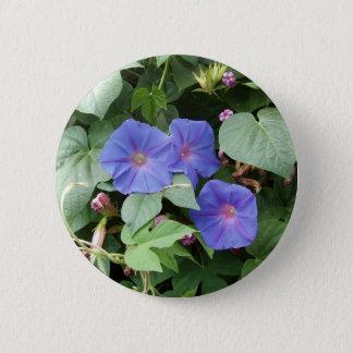 Bóton Redondo 5.08cm Flores da glória de Moring - botão