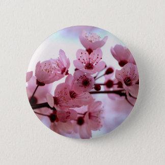 Bóton Redondo 5.08cm Flores japonesas da árvore de cereja