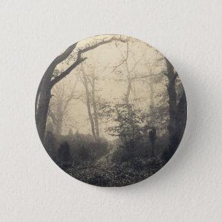 Bóton Redondo 5.08cm Floresta de Fontainebleau