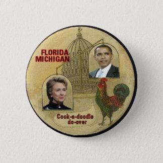 Bóton Redondo 5.08cm Florida/Michigan Fazer-Sobre o botão