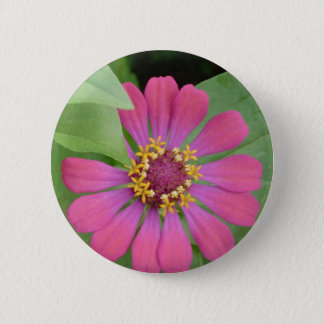 Bóton Redondo 5.08cm Flower power