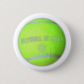 Bóton Redondo 5.08cm Flyball é vida
