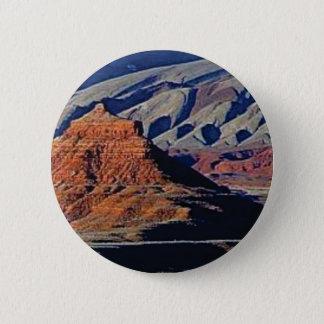 Bóton Redondo 5.08cm formas naturais do deserto