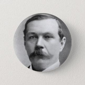 Bóton Redondo 5.08cm Foto de Arthur Conan Doyle