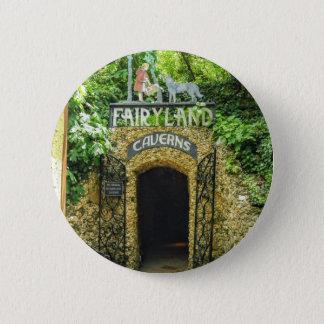 Bóton Redondo 5.08cm Fotografia da natureza das cavernas do Fairyland