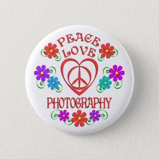 Bóton Redondo 5.08cm Fotografia do amor da paz