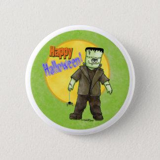 Bóton Redondo 5.08cm Frankenstein o Dia das Bruxas