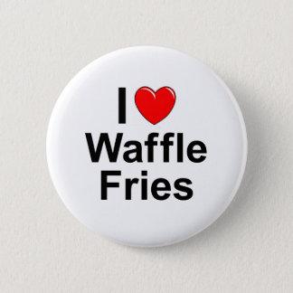 Bóton Redondo 5.08cm Fritadas do Waffle