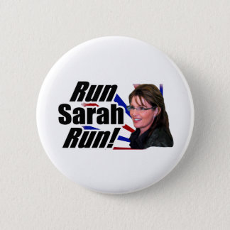 Bóton Redondo 5.08cm Funcione o funcionamento de Sarah! Sarah Palin