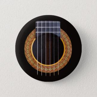 Bóton Redondo 5.08cm Furo espanhol da guitarra