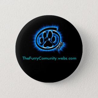 Bóton Redondo 5.08cm FurryInside, TheFurryComunity.webs.com