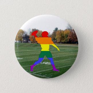 Bóton Redondo 5.08cm Futebol do orgulho