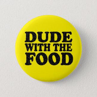 Bóton Redondo 5.08cm Gajo com o botão do pino da comida