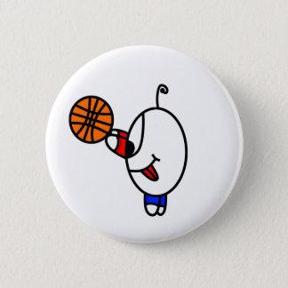 Bóton Redondo 5.08cm gajo engraçado do basquetebol