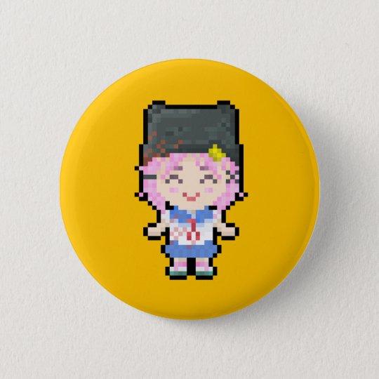 Bóton Redondo 5.08cm Gakkou Gurashi! ~ Yuki Takeya