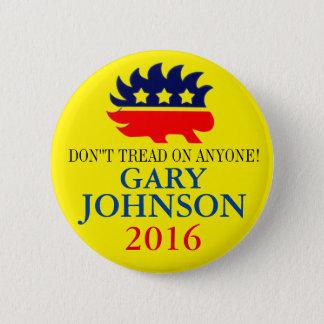 Bóton Redondo 5.08cm Gary Johnson 2016
