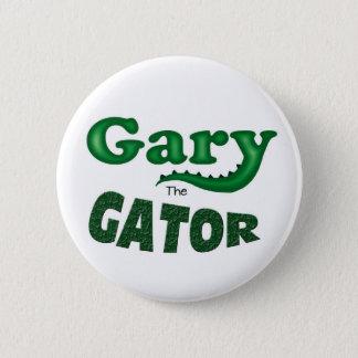 Bóton Redondo 5.08cm Gary o botão do logotipo do jacaré