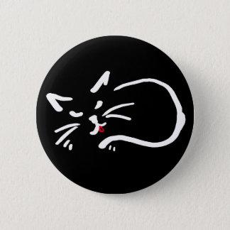 Bóton Redondo 5.08cm gatinho insolente