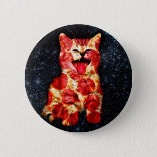 Bóton Redondo 5.08cm gato da pizza - gatinho - gatinho