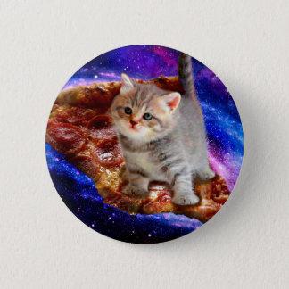 Bóton Redondo 5.08cm gato da pizza - gatos bonitos - gatinho - gatinhos