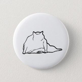 Bóton Redondo 5.08cm Gato gordo #3