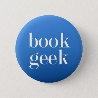Bóton Redondo 5.08cm Geek do livro - amante de livro/leitor do livro