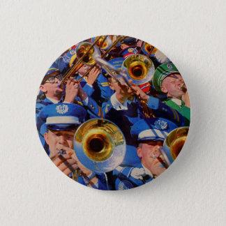 Bóton Redondo 5.08cm geeks da banda da multidão do trombone AKA idos