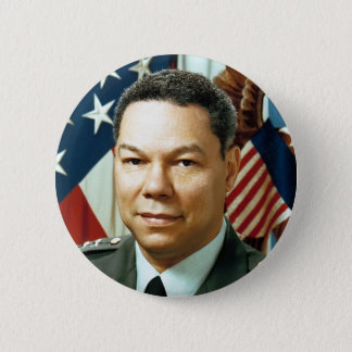 Bóton Redondo 5.08cm General Colin Powell
