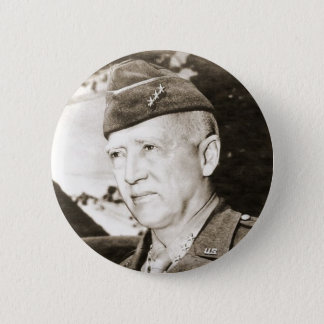 Bóton Redondo 5.08cm General George Smith Patton
