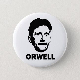 Bóton Redondo 5.08cm George Orwell