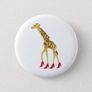 Bóton Redondo 5.08cm Girafa colocado saltos