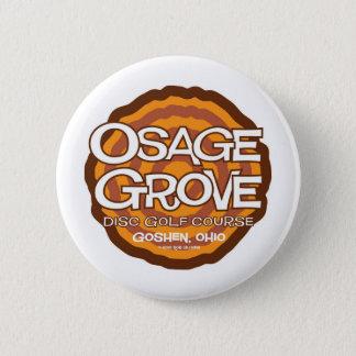 Bóton Redondo 5.08cm Golfe do disco do bosque de Osage