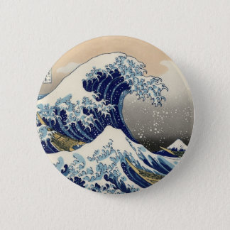 Bóton Redondo 5.08cm Grande botão da onda