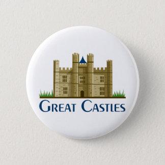 Bóton Redondo 5.08cm Grandes castelos