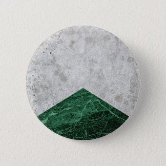 Bóton Redondo 5.08cm Granito concreto #412 do verde da seta