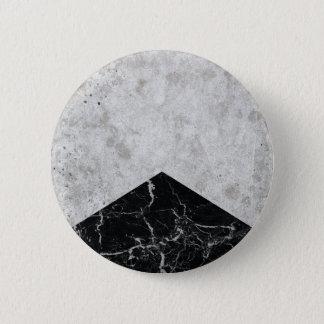 Bóton Redondo 5.08cm Granito concreto #844 do preto da seta