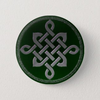 Bóton Redondo 5.08cm gre irlandês pagão do símbolo antigo celta de