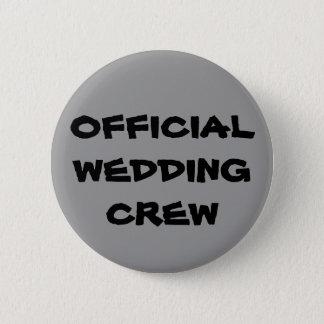 Bóton Redondo 5.08cm Grupo oficial do casamento
