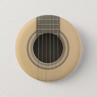 Bóton Redondo 5.08cm Guitarra clássica do botão redondo