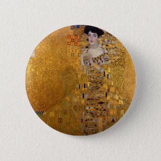Bóton Redondo 5.08cm Gustavo Klimt - Adele Bloch-Bauer mim pintura