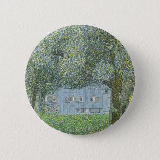 Bóton Redondo 5.08cm Gustavo Klimt - Bauerhaus na pintura de Buchberg