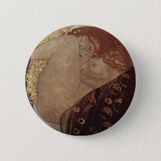 Bóton Redondo 5.08cm Gustavo Klimt - Danae - trabalhos de arte bonitos