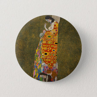 Bóton Redondo 5.08cm Gustavo Klimt - esperança II - trabalhos de arte